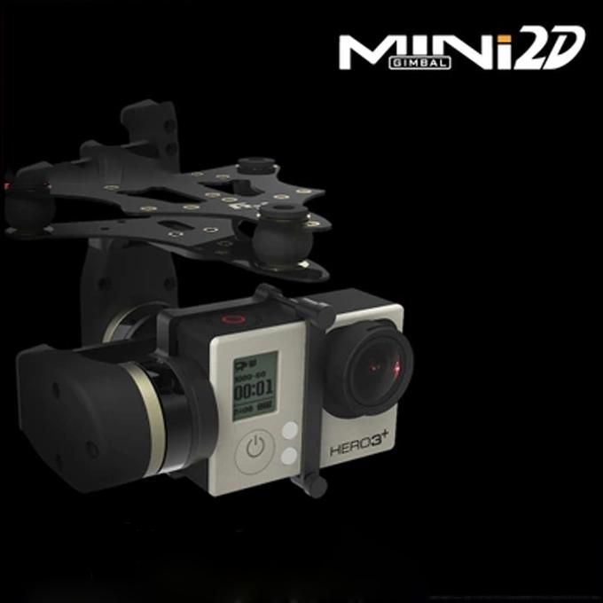 Здесь можно купить  Newwst Mini 2D 2-Axis Metal Brushless Gimbal for iLookPlus/GoPro Hero 3 Camera FPV Quadcopter Walkera QR X350 Pro DJI Phantom  Игрушки и Хобби