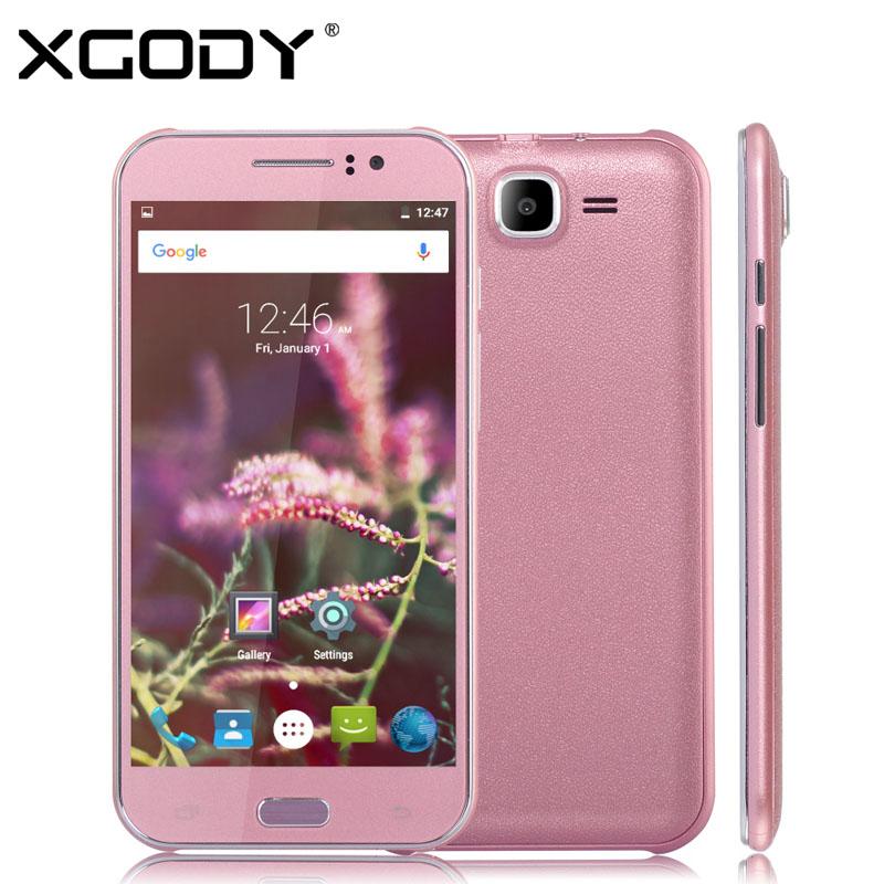 "XGODY X10 5"" Android 5.1 Smartphone MTK6580 512MB+4GB Quad Core 2MP/8MP 3G/2G Unlocked Cell Phone Dual SIM Fashion Mobile Phone(China (Mainland))"