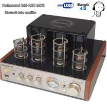 Buy Nobsound MS-10D MKII Hifi 2.0 Amplifier USB/Home Audio tube amp 25W*2 220v amplificador bluetooth vacuum tube amplifier for $85.00 in AliExpress store