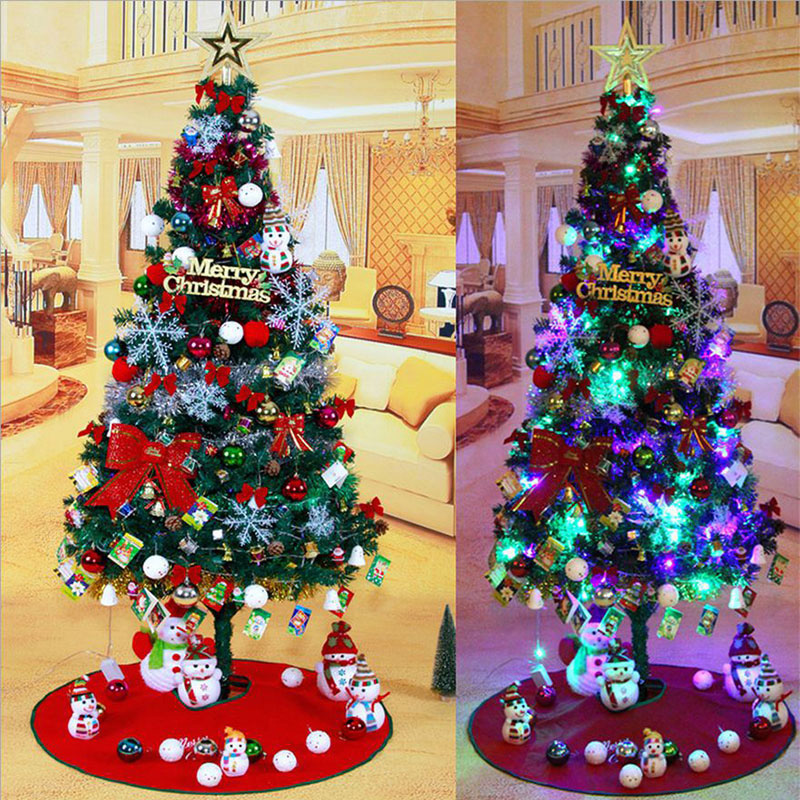 150cm artificial christmas tree with decorations for - Arboles de navidad decorados ...