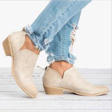HEE BÜYÜK Kadın Kış Çizmeler Kadınlar Üzerinde Kayma Nedensel yarım çizmeler platform ayakkabılar Kadın Creepers Kauçuk Flats Artı boyutu 35-43 XWX6903(China)