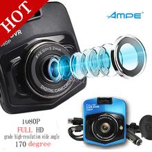 100% Original Mini Car DVR Camera Ampe GT300 Dashcam Full HD 1080P Video Registrator Recorder G-sensor Night Vision Dash Cam(China (Mainland))