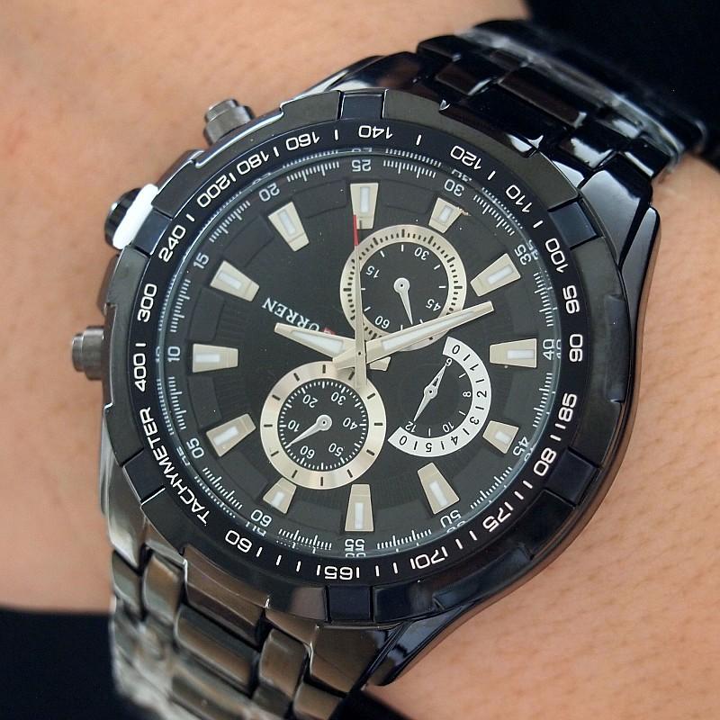 Hot Quality Brand CURREN 8023 Watches Imported Quartz Big Face Design Montres de Marque de Luxe Reloj Hombre Acero Inoxidable dz(China (Mainland))