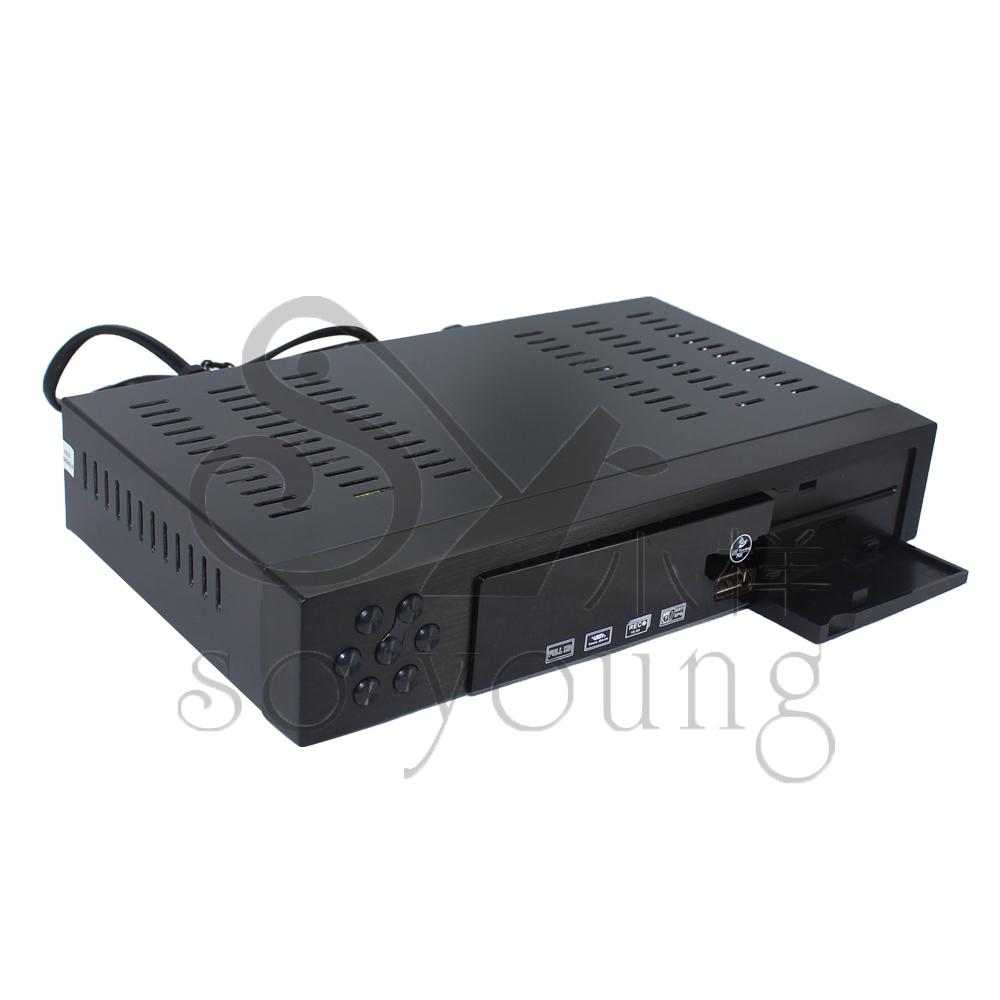 DVB T2 Terrestrial Receiver DVB-T DVB-T2 MPEG-2/-4 H.264 Support USB/HDMI Mini Set Top Box free shipping(China (Mainland))