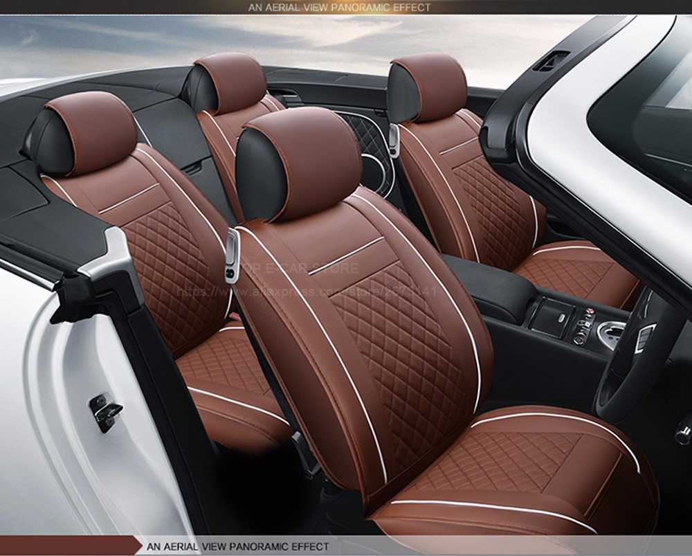 Leather Car Seat Covers For Fiat Panda