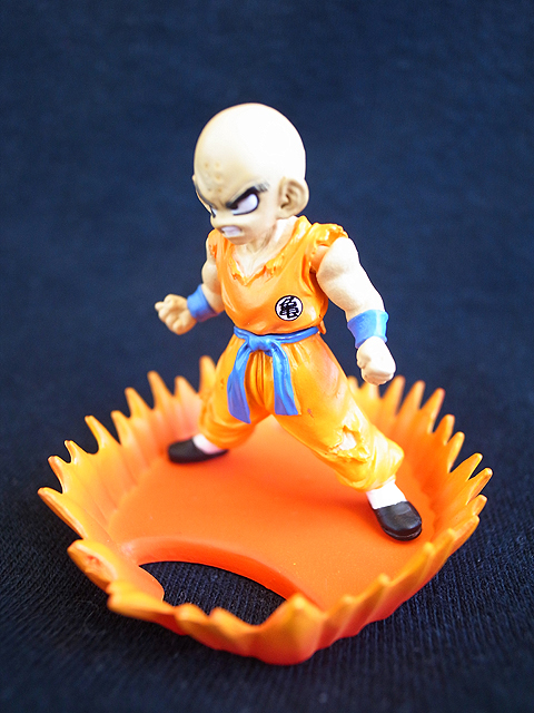 Bandai Dragonball Z HG Part 2 Krillin Klilyn Collection Gashapon Figure Original - Anime Toy Store store