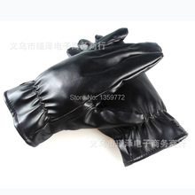 Man Classic Leather Gloves winter gloves(China (Mainland))