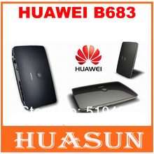 Original Unlocked Huawei B683 21.6Mbps 3G wireless router HSPA+ Wireless WIFI Gateway support USB port WCDMA 900/2100MHZ(China (Mainland))
