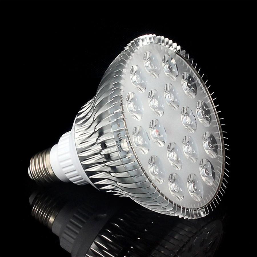 E27 / 54 W LED Pflanzenstrahler 18 x 3W / Vollspektrum, grow-light spot full spectrum