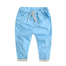 Baby Boys girls pants new kids clothing cotton baby long trousers baby girl Pencil Pants baby boys girls clothing Factory Price(China (Mainland))