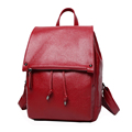 Famous Brand New Fashion Backpack Women Korean Style Simple Plain Backpack Designer Drawstring High Quality Bag