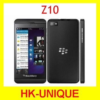 Первоначально открынный Blackberry Z10 двухъядерный GPS WiFi 8.0MP камера 4.2 дюймов сенсорный экран 16 г хранения сотовых телефонов бесплатная доставка
