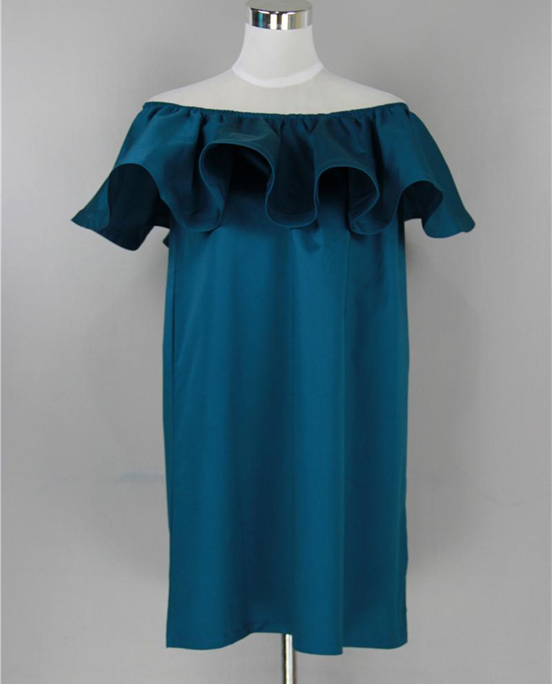 Платье воланом своими руками 4