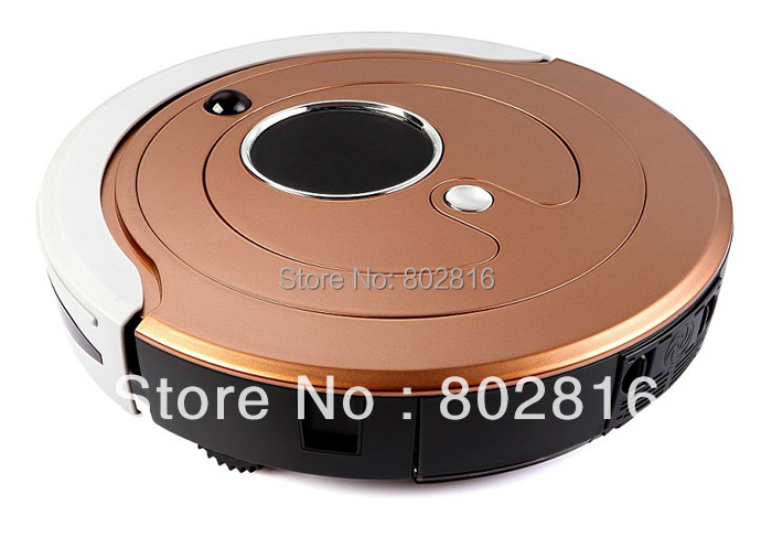 Free Shipping 2200MAH Li-ion battery Robot Vacuum Cleaner D6601 with the Biggest Dustbin 800ML,Heap Filter,UV,Schedule,Auto(China (Mainland))