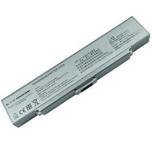 6cell+CD Replacement Laptop Battery For SnoyVGP-BPS9A VGN-NR490E NR320 NR160E Free Shipping