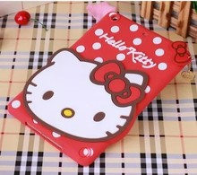 Anti-knock New Novelty for 9.7″ apple ipad 4/3 2 tablet PC accessory protective case shell skin silicon soft  back cover