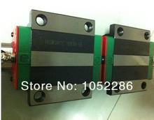 2pcs 100% original Hiwin rail HGR20 L1100mm+4pcs HGW20CA flanged block for cnc