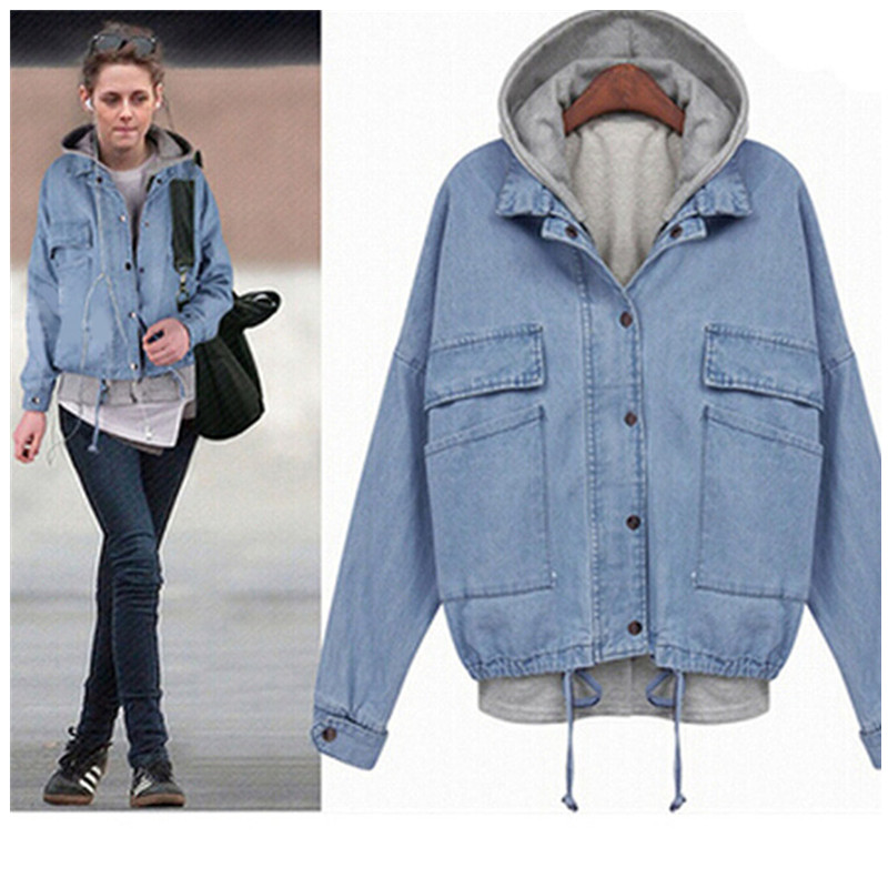 Denim Jacket Hoodie Women - Best Jacket 2017