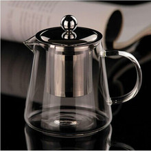 550ML heat-resistant glass coffee tea sets tea pot chinese kung fu tea set glass teapot tea infuse free shipping