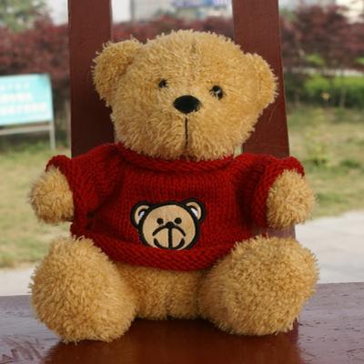 wholesale mini teddy bear kawaii sitting 15cm stuffed teddy bear toy doll life size teddy bear toys for children birthday gift(China (Mainland))
