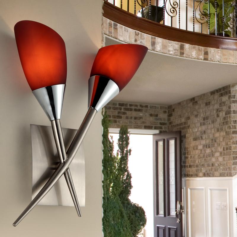 Brief-fashion-modern-purple-rustic-wall-lamp-flower-ofhead-wall-light-living-room-lamps-lighting ...