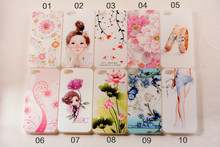 Sexy girl Pattern,5S Fashion 3D Diamond Dimensional Relief Painted Case Cover for iPhone 5 5S Mobile Phone Bag