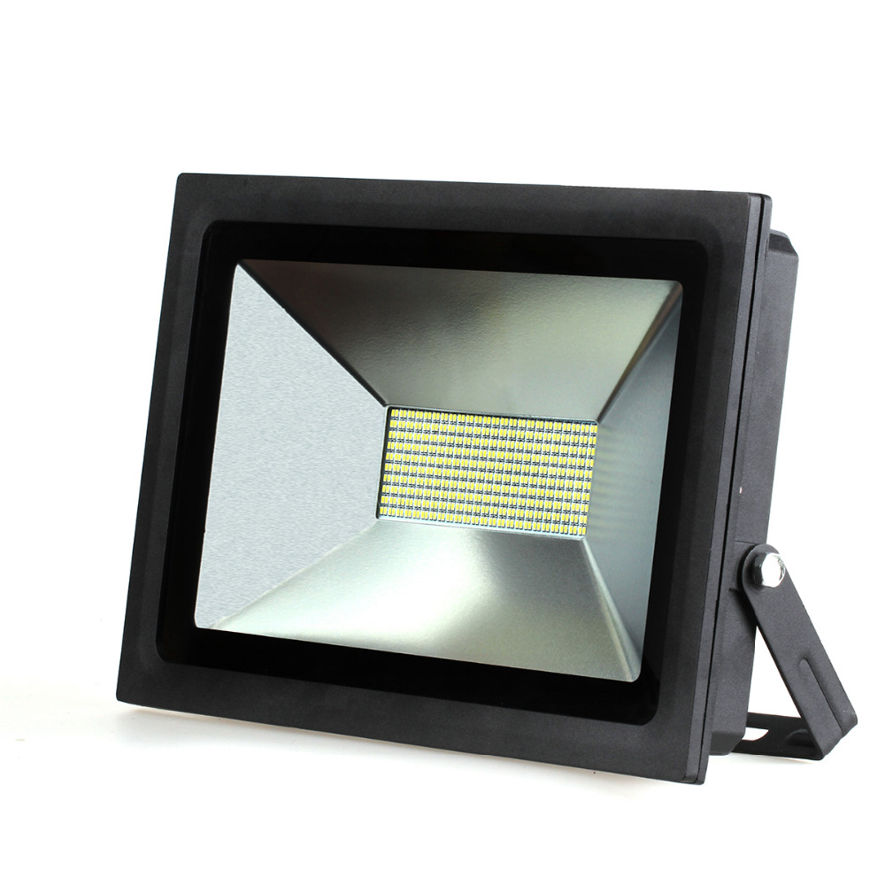 Ultrathin LED Flood Light 100W 60W 30W 15W LED Floodlight IP65 Waterproof 220V 110V  LED Spotlight Outdoor Lighting<br><br>Aliexpress