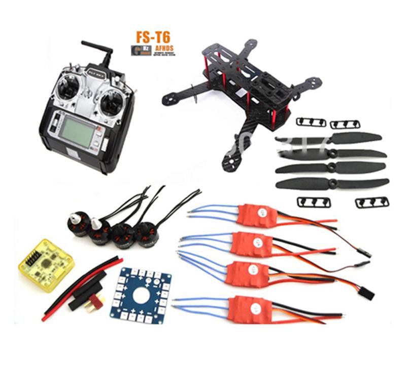 Mini Qav250 Carbon Fiber Frame Quadcopter With Flysky Fs