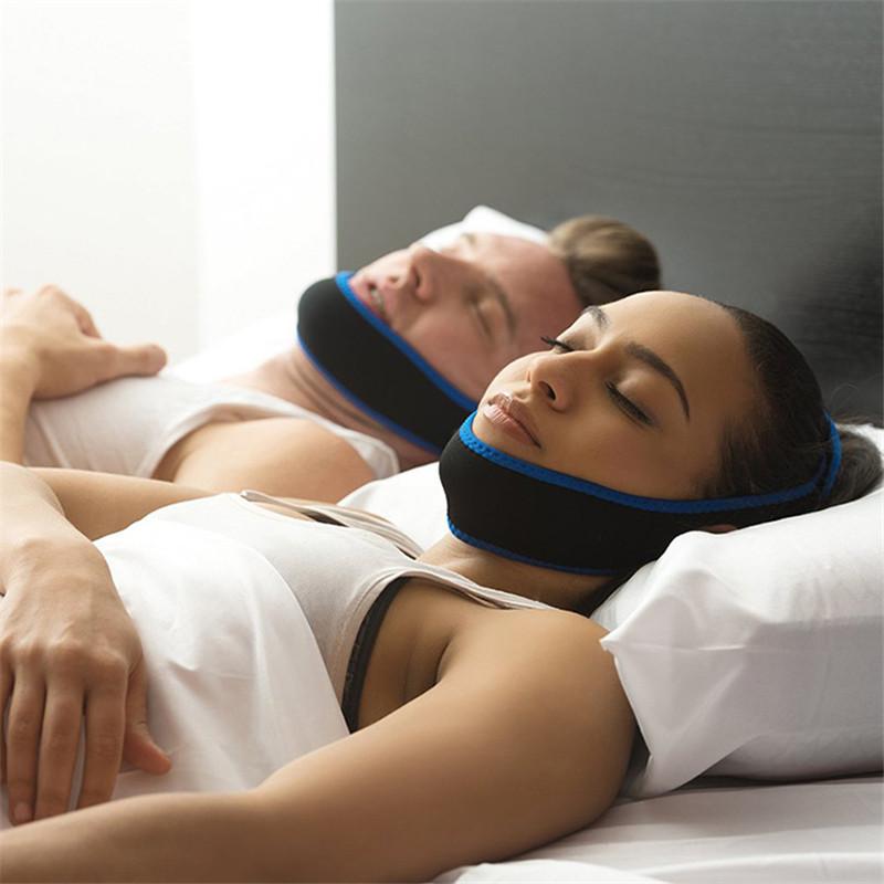 Stop Snorin anti-snore apparatus with anti-snore pillow chin anti-snore head with nasal snoring grunting T185(China (Mainland))
