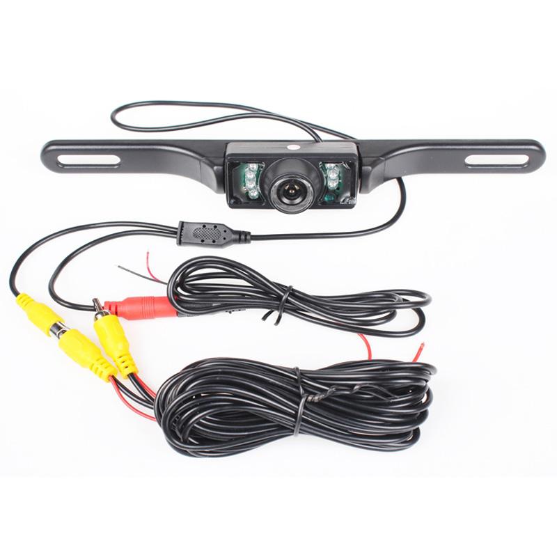 Car Rear Camera 7 IR Night Vision Backup Camera  Reverse Car Camera  for GPS/DVD/Monitor Optional(Wireless,Monitor,Mirror)