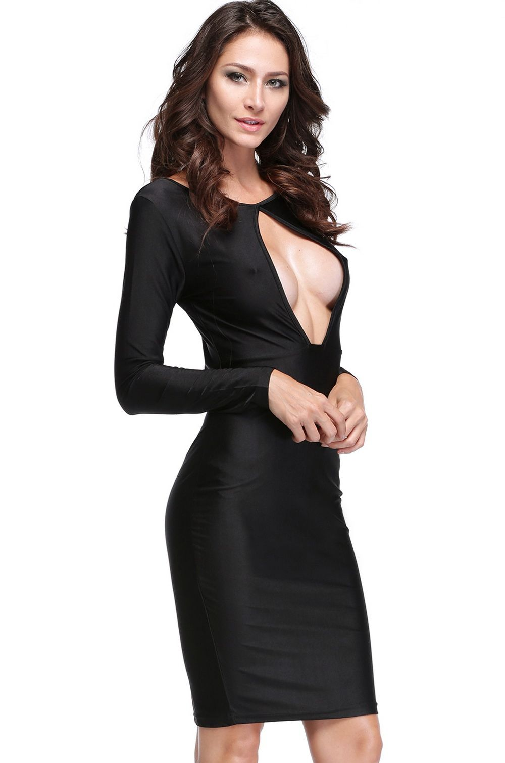 Aliexpress.com : Buy 2014 New Sexy Women O neck Long
