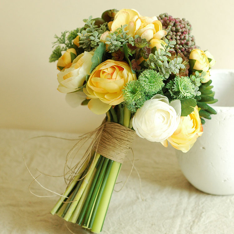 Compare Prices On Succulent Wedding Bouquet Online Shopping Buy Low Price Su