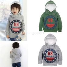 New 2015 Spring Kids Hoodies winter sweater Boys Sweatshirt Clothing Children Hoody Sweatshirts for Boy 18(China (Mainland))