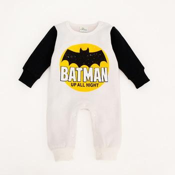 Baby Boy Girl Clothing Newborn Batman Clothing Baby Bodysuits Baby Halloween Costume
