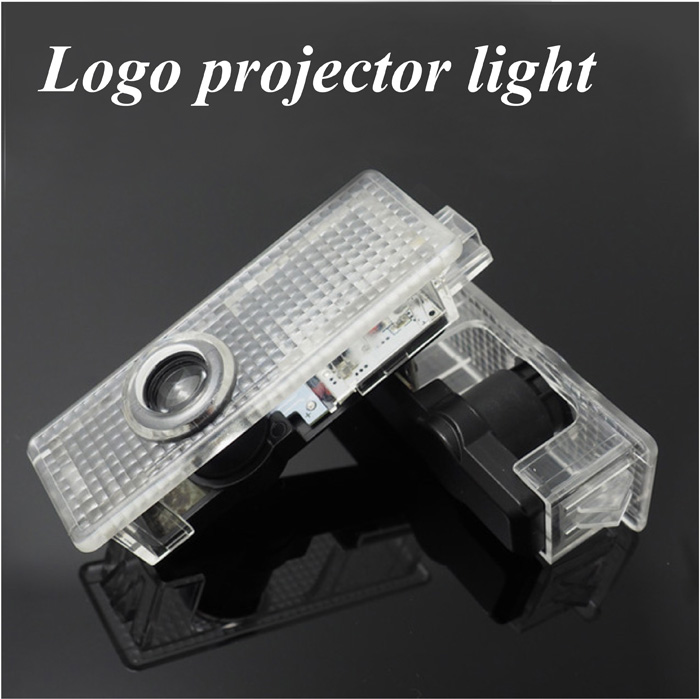 2X Cree Car LED Courtesy Door Logo Projector Light Ghost Shadow Light FOR BMW E60 E63 E90 E92 E93 X1 X3 X5 X6 M3 M5(China (Mainland))