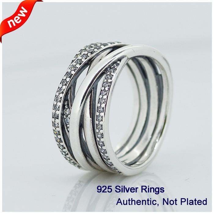 Обручальное кольцо Other , Pandora CZ 925 NRI003 other 925 f diy pandora lw326