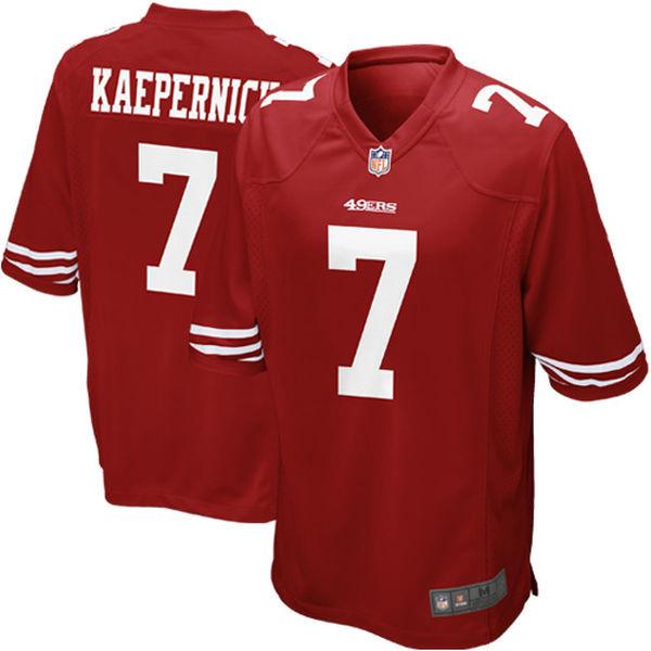 Colin Kaepernick Jerseys NFL Game Football Jersey - Scarlet(China (Mainland))