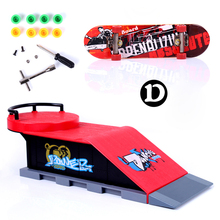 Skate Park Ramp Parts for Tech Deck Fingerboard Finger Board D(China (Mainland))