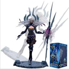 23cm LOL The Will of the Blades Irelia hero Action Figure Model Toys Dolls Anime Cartoon gift collection free shipping