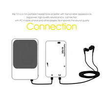 xDuoo XQ-10 Mini Sound Headphone Amplifier Connected with PC Phone MP3 MP4(China (Mainland))