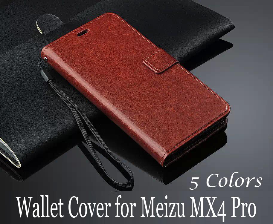 Luxury Retro PU Leather Wallet Case Meizu MX4 Pro Flip Book Style Phone Bag Cover Card Holder+Photo Frame,Drop Ship - Win-Win International Trading Co.,Ltd store