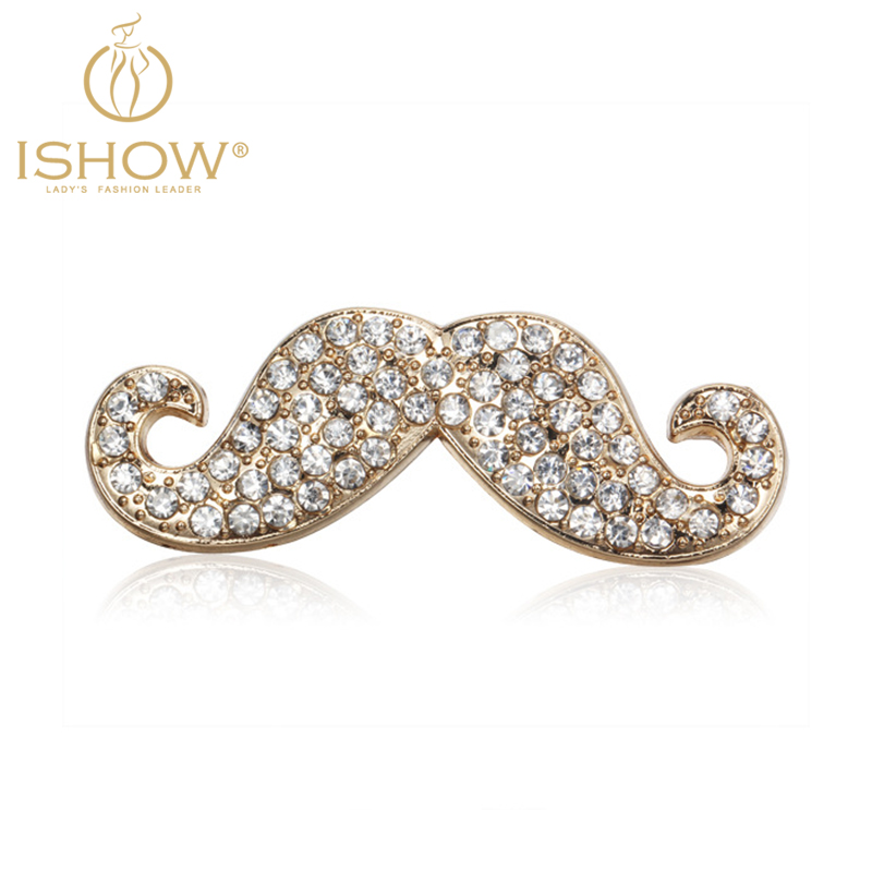 Charming Rhinestones Mustache Shaped Alloy Mobile Phone Sticker for iphone 5 6 Samsung Phone Decoration pegatinas(China (Mainland))