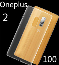Top quality ! UltrathinTransparent Soft TPU  case for Oneplus 2 Free shipping 2pcs/lot ,