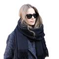 Brand Fashion Echarpe Brand Luxury Scarf Unisex Women Men Quality Wool Cashmere Pashmina Scarf With Tassels