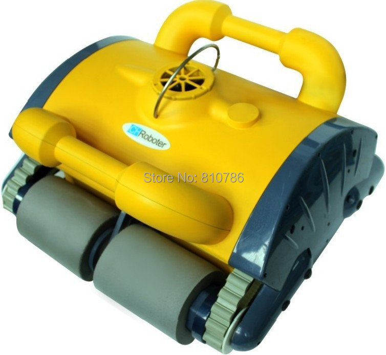 Free Shipping Swimming Pool auto cleaner With Spot Cleaning, Wall Climbing+Remote Controller+15m Cable+Working Area:100m2-200m2(China (Mainland))