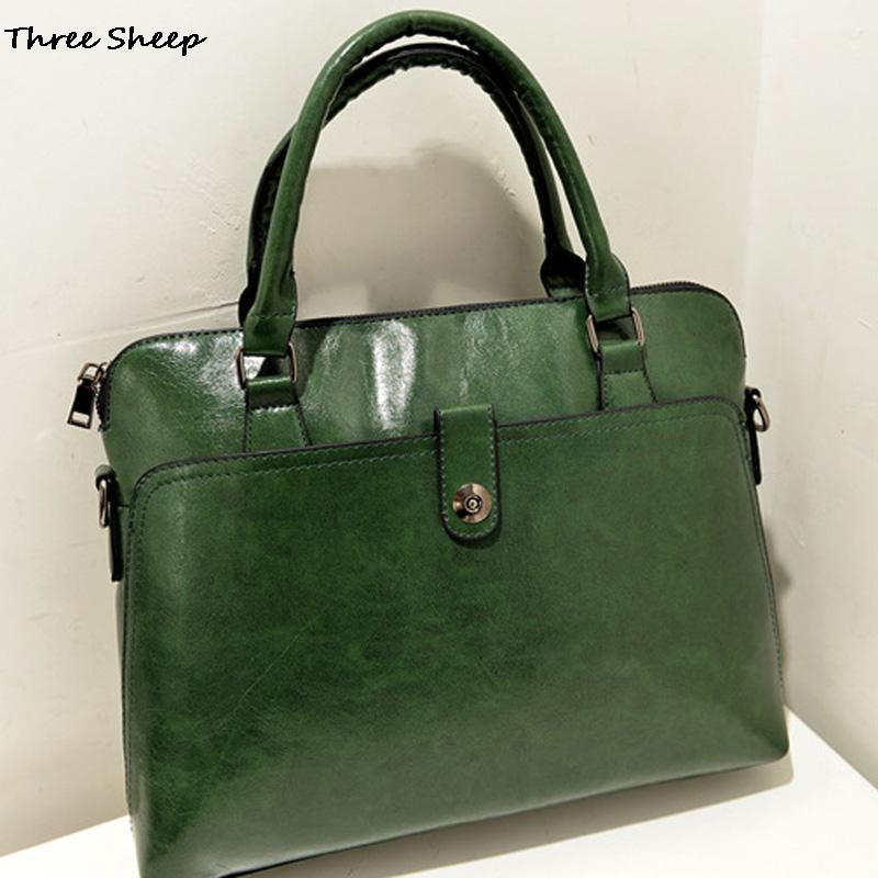 Designer Women Handbags Brand Ladies Hand Bags 2016 Green Shoulder Bags Black PU Leather Handbag Women Sac Bandouliere Bolsa(China (Mainland))
