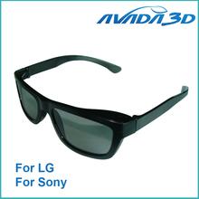 Passive 3D Glasses Compatible Circular Polarized 3D Glasses for Passive 3D TV's Televisions 3pc/lot Free Shipping