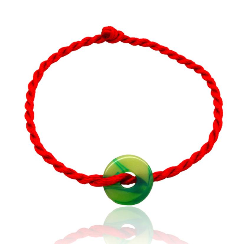 New Arrival! Diy Red String Bracelet 2015 Hand Woven Red String Rope Charm Good Luck Bracelet ...