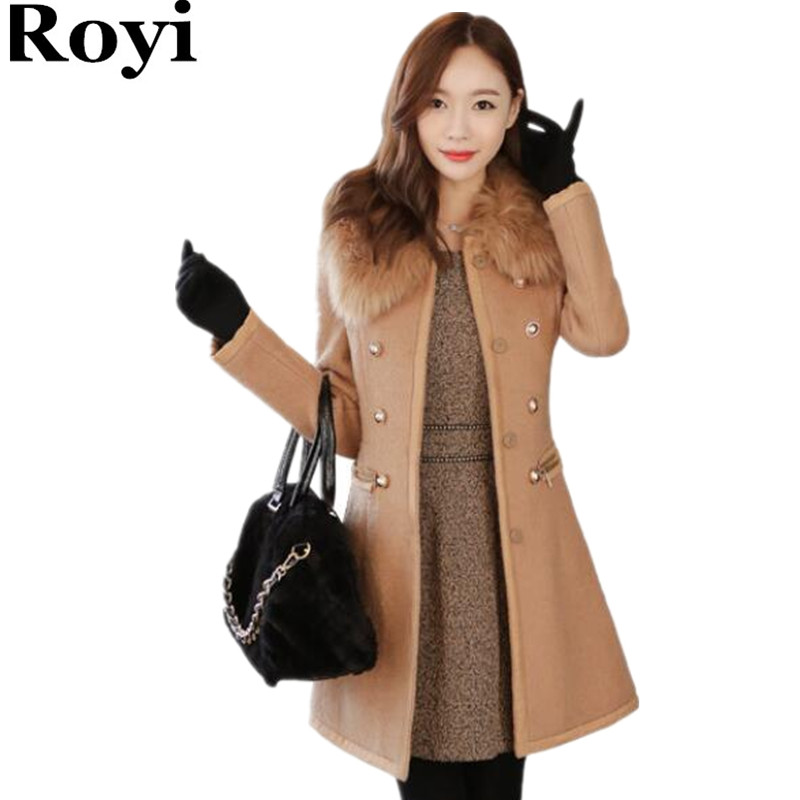White Coats For Women Women Winter Woolen Coat