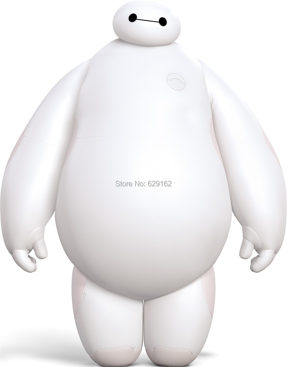 New Big Hero 6 Baymax PVC Action Figure Dolls. Arms And Waist Can Be Rotated 360 Degrees, High Quality 15CM Robot. Free Shipping(China (Mainland))